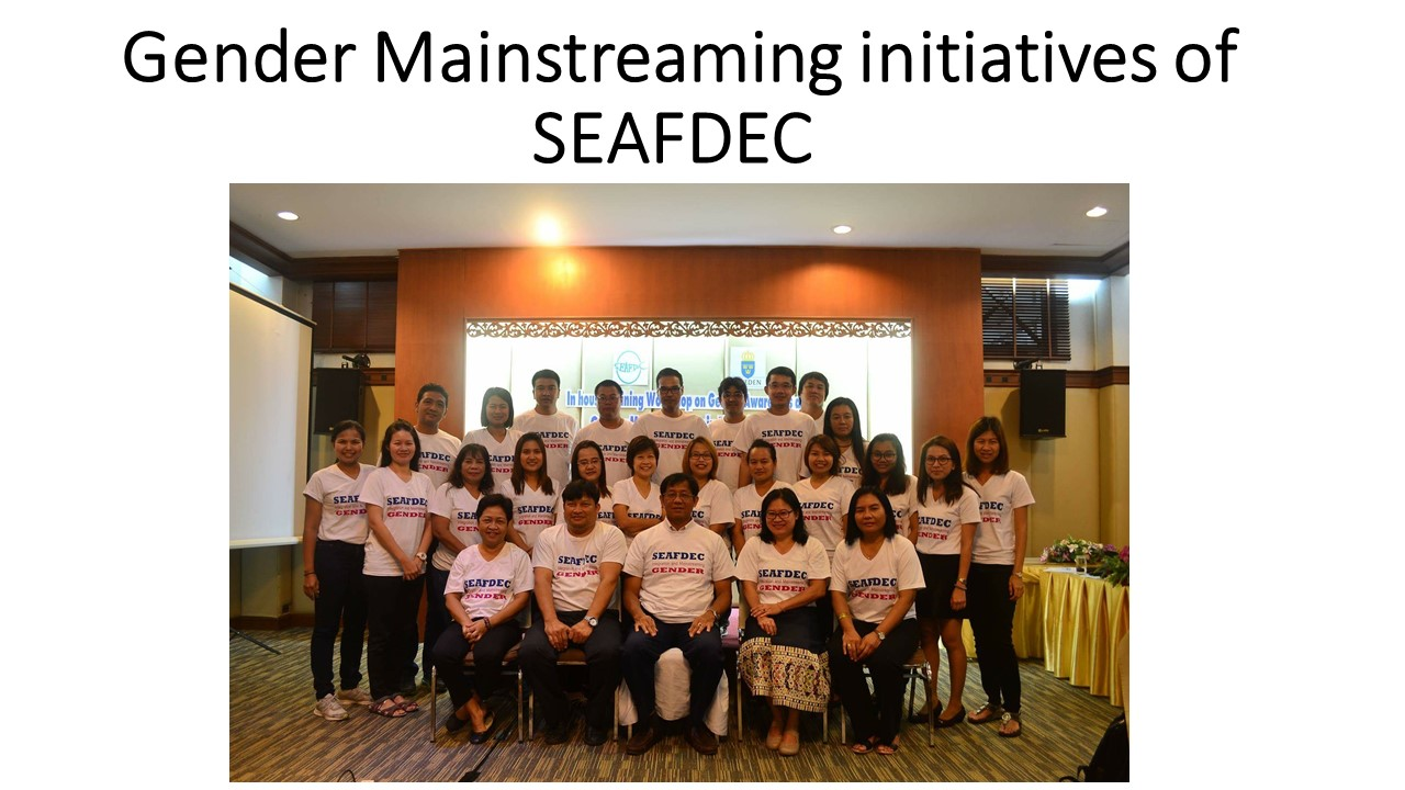 SEAFDEC Gender Strategy